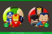 create your favourite Superhero in lovely style