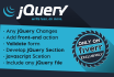 create or make change in any jQuery