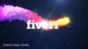 create your UNIQUE colorful particle Logointro