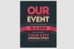 design Flyer for your Event