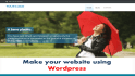 make a  Website Using Wordpress