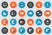 design a 2 Vector Icons for your Website Application