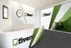 put your LOGO to a virtual office walls