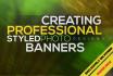 design a professional Banner Ad