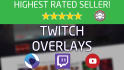 create a full featured Twitch overlay