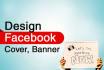 design Cover, Banner for any Social Media