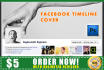 design your FACEBOOK Timeline Cover Professional