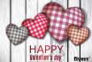 design stunning valentine wish card