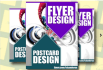 do Flyer and Poster designs