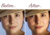 professionally retouch / improve a portrait photo and remove any type of faults till you get the perfect picture