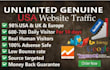 push Unlimited Targeted Website Traffic with Real visitors for 45 days