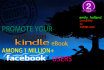 promote Your Amazon Kindle eBook to 1 million Facebook Users