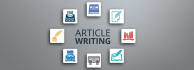 write blog posts, content and articles
