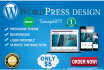 make amazing and hot wordpress site
