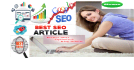 do SEO article or blog post writing