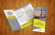 create professional  TRIFOLD brochure