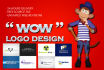 design logo for your company and website