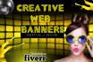 design an amazing web banner