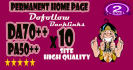 give link DA70x10 site permanent Home Page
