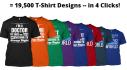 create amazing tshirt or tee design