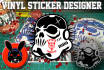 design you the best vinyl decal design for your business