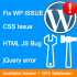 fix wordpress error or Css issue or javascript error