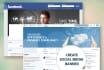 create Social Media banner