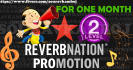 promote your REVERBNATION Account for 30 days
