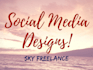 create your social media graphics