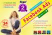 design awesome Facebook Ads