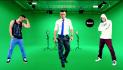 dance on green screen