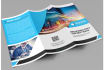 do professional trifold and leaflet brochure design