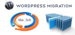 transfer wordpress site to new host