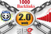 build 1000 Web2,0 Backlinks indexing