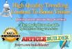 create 15 High Quality Spun Articles Human Readable