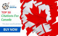manually do 30 Live Local Listing for Canada Local business