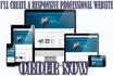 create Wordpress Website or Wordpress blog