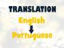 manually translate English to Portuguese