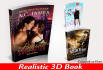 make Realistic 3D book cover in 24 hours