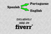translate any text from Spanish to Portuguese or English