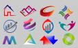 design Modern Company Business Brand Website Logo