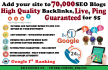 do SEO 70,000 Blast of Live Dofollow Blog Comments for Website Ranking Position