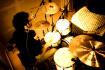 record a retro sounding live drum loop for your song