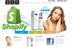 design customize an online shopify website, shopify store