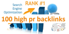 boost your ranking with 100 high pr baclinks
