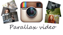 create awesome  parallax video for your Instagram