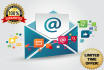 provide you active target email addresses for your business