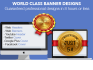 design any form of banner, header or ads in 8 hours