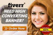 give Full AMAZING Banner For Your Business
