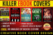 design an Eye Catching unique Ebook or Kindle Cover